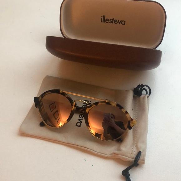 Illesteva Accessories Milan Ii Mirrored Sunglasses Poshmark